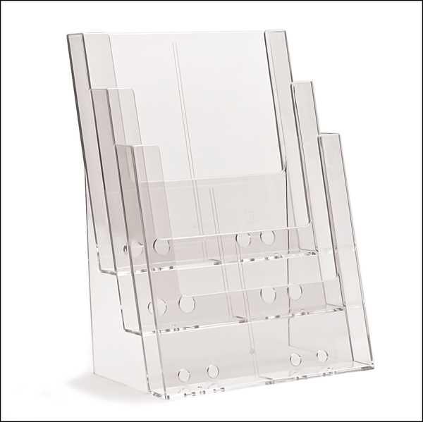 TAYMAR Prospekthalter 3 x A4 hintereinander