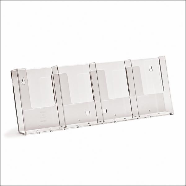 TAYMAR Prospekthalter 4 x LangDIN Wand