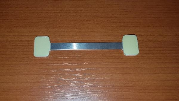 Twinstick aus Aluminium mit 3 Klebeflächen