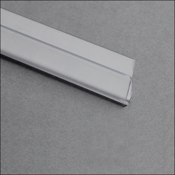 Klemmprofil klarsichtig ohne Kleber