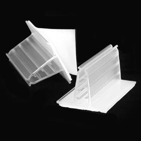 Card Grip groß 75mm PVC klarsichtig