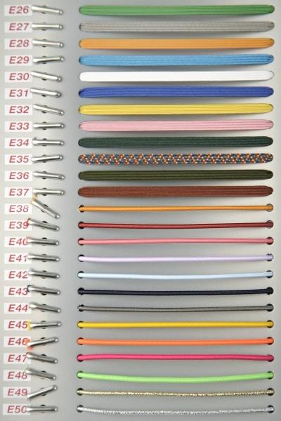 Gummiband mit Doppelsplint 20-29cm