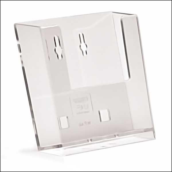TAYMAR Wandprospekthalter DIN A6 Hochformat