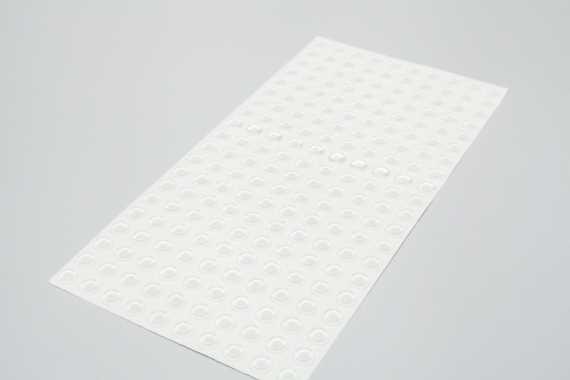 Displaystopper sk klarsichtig 3,5mm hoch 12,7mm dm