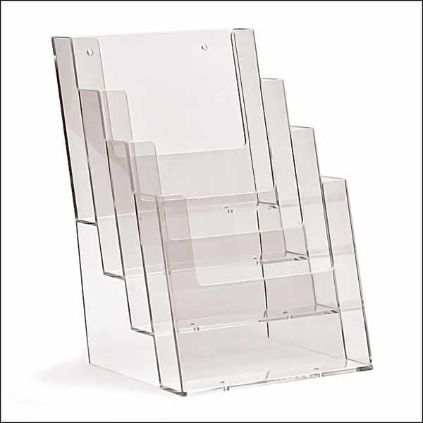 TAYMAR Prospekthalter 4 x DIN A5