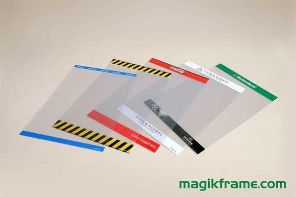 MagikFrame Hochformat bedruckt