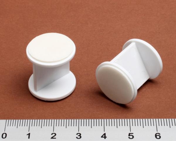 Abstandhalter rund 20mm weiß