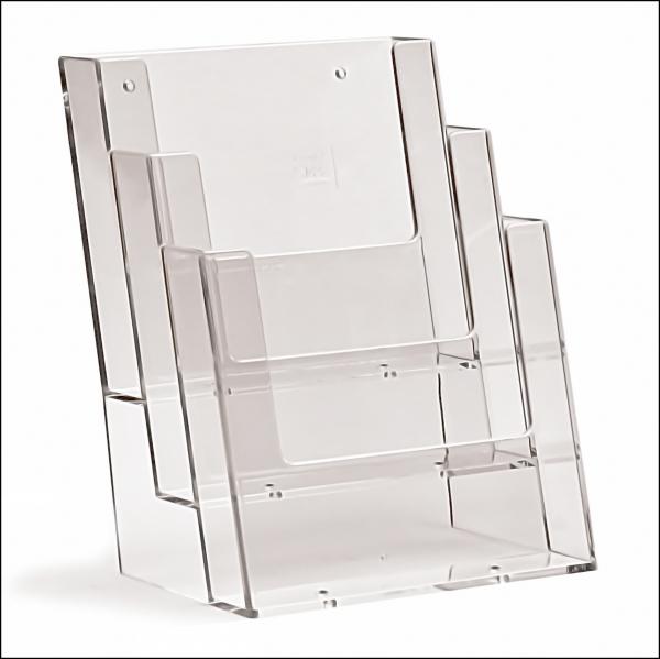 TAYMAR Prospekthalter 3 x DIN A5