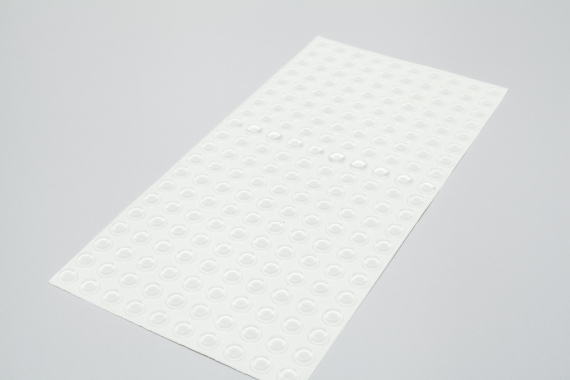Displaystopper klarsichtig 1,9mm hoch 19,1mm dm